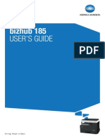 Bizhub 185 User Guide