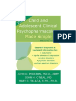 Child and Adolescent Clinical Psychopharmacology Second Edition