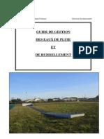 Guide de Gestion Des EP Et de Ruissellement - CUGT