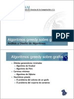 Greedy Graph Algorithms