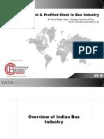 Usage of Coated & Profiled Steel in Bus Industry -Vinod Rodg