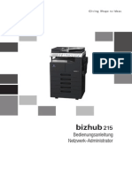 Konica Minolta Bizhub 215 Network Administration DE