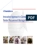 20080704innovativeapproachincontractsandtenderprocurementmanagement-121213043832-phpapp02