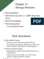 Chapter 11 hard disk