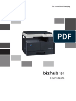 Konica Minola Bizhub 164 User Guide/Manual EN