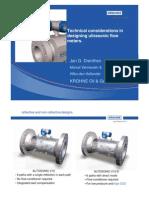 1_Designing Ultrasonic Flow Meters