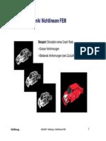 nonlinear finite element method