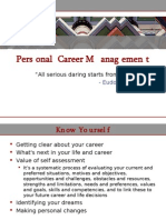 L1 - Personal Career Management