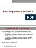 L2 - Exercising Power & Influence