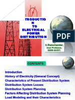 Introduction to Electrical Distribution System