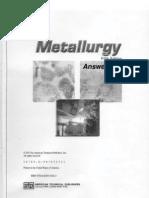 Metallurgy Answer Key
