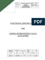 FS SSIV Actuator