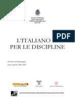 Litaliano l2 Per Le Discipline 1