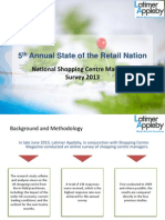5th Annual State of the Retail Nation - Latimer Appleby Market Research Consultants