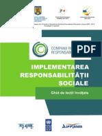 Implementarea Responsabilitatii Sociale_ Ghid de Lectii Invatate