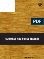 Hardness and Force Testers Category