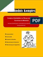 Verstandnis-Komplex