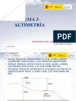 Tema 03 Altimetria