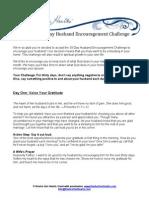 30 Day Husband Challenge Revised