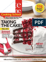 Taste of Home Cooking School - Fall 2013