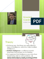 howard gardner - multiple intelligences