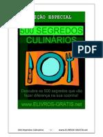 500 Segredos Culinários