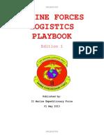 MEF Logistics Playbook Draft