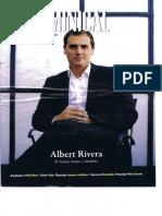Entrevista EL Dominical de Intereconomia a Albert Rivera