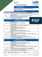 Municipalika 2013 Conference Schedule