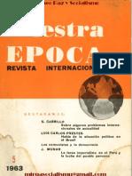 Nuestra Epoca Revista Internacional, mayo de 1963 (Chile)