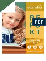 Edarabia Quarterly Rankings October 2013