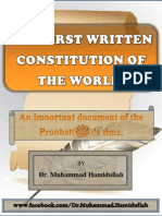 The First Written Constitution of the World
