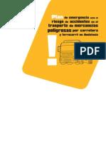 Plan de emergencia ante el riesgo de accidentes en el transporte de mercancias peligrosas en Andalucía