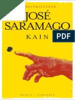 Saramago, Kain Laeseproeve