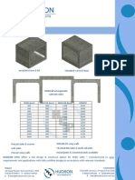 Hudson's Precast Concrete Box Culvert Catalogue 2011