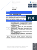 BP Newsletter 14_2012 Inregistrare Contracte Nerezidenti RO