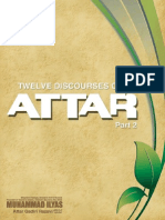 Twelve Discourses of Attar Part 2, Muhammad Ilyas Qadri