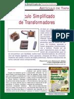 Calculo de Transformadores Saber Electronica 1223261333678936 8