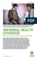 Universal Health Coverage: Why health insurance schemes are leaving the poor behind