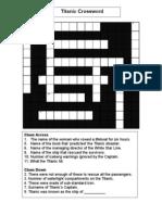 Titanic Crossword 1