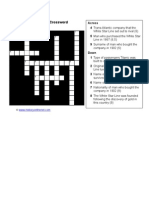 White Star Crossword