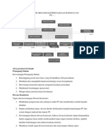 Struktur Organisasi Perusahaan Konsultan