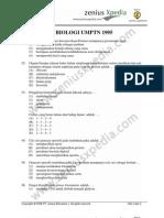 biologi UMPTN 1995