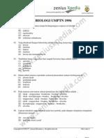 biologi UMPTN 1996