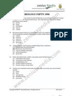 biologi UMPTN 1998