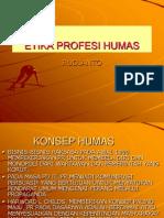 ETIKA PROFESI HUMAS