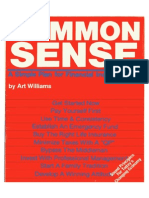 CommonSense Art Williams