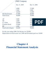 CH 4 Financial Ratios