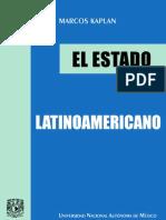 el estado latinoamericano - marcos kaplan