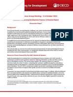 Measuring Development Finance - A Situation Report